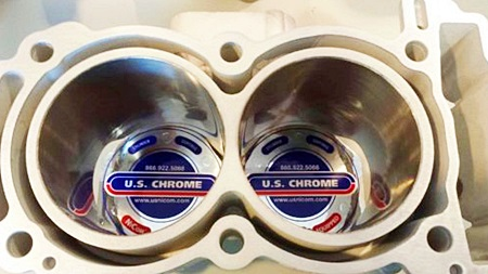Replated Cylinders from US Chrome