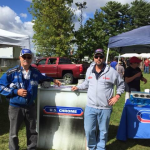 Pat Hauck with US Chrome at Hay Days