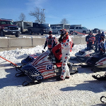 Snowmobile Cylinder Repair for Oval Racing