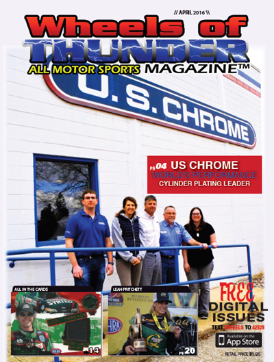 US Chrome in Wheels of Thunder Magazine