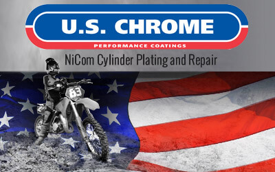 Dirt Bike Cylinder Plating & Replating | U S  Chrome